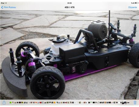 HPI RS4 MODEL ARAÇ NİTRO BENZINLİ