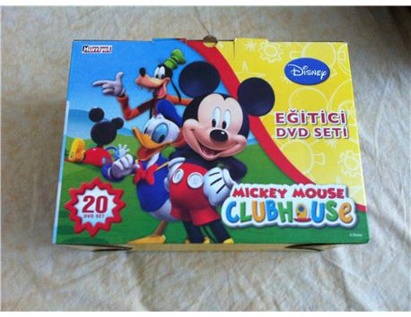 Mickey Mouse dvd set 20 dvd