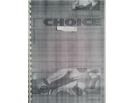 LONGMAN - CHOICE (PRE- İNTERMEDİATE) fotokopi