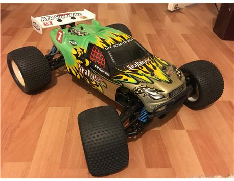 SEA ROWER  RC MONSTER TRUCK