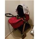 Cybex Priam Wings Jeremy Scott 3in1 Travel System - Black